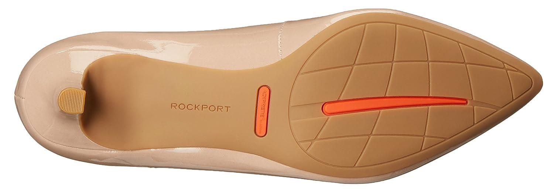 Rockport Women's Total Motion Kalila Dress Pump B013QS91KM 6.5 W US|Warm Taupe Patent