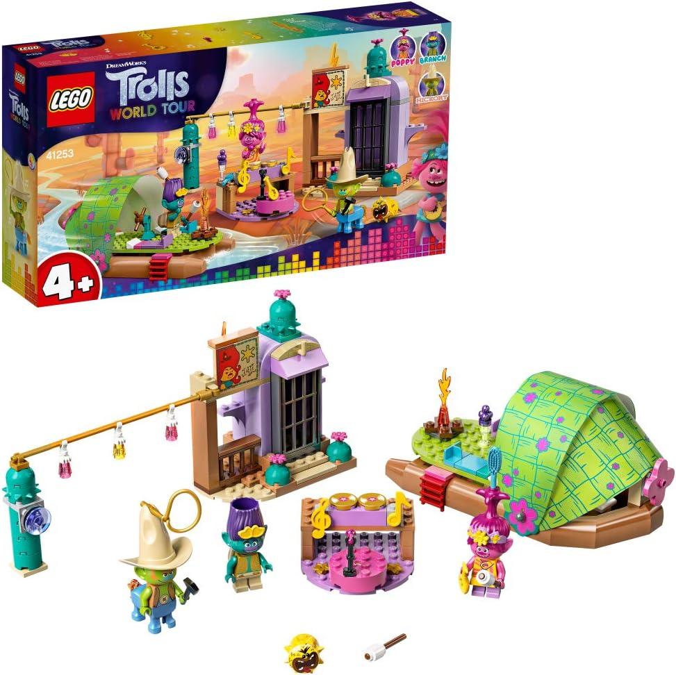 レゴ(LEGO) トロールズ ロンサム・フラッツのいかだアドベンチャー 41253