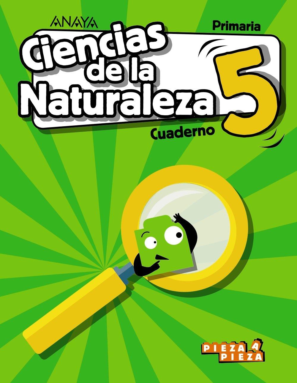 Ciencias De La Naturaleza 5 Cuaderno Pieza A Pieza Amazon Es Gómez Gil Ricardo Valbuena Pradillo Rafael Libros