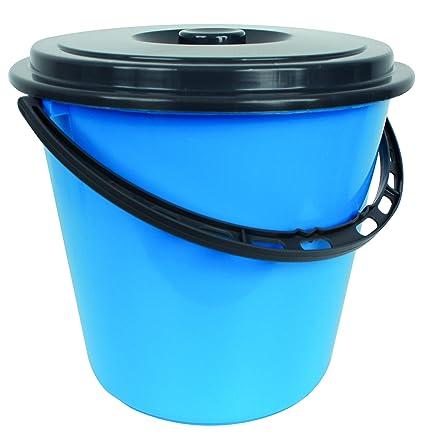Gut gemocht Centi Eimer Wassereimer mit Deckel 10 Liter (blau): Amazon.de UT53
