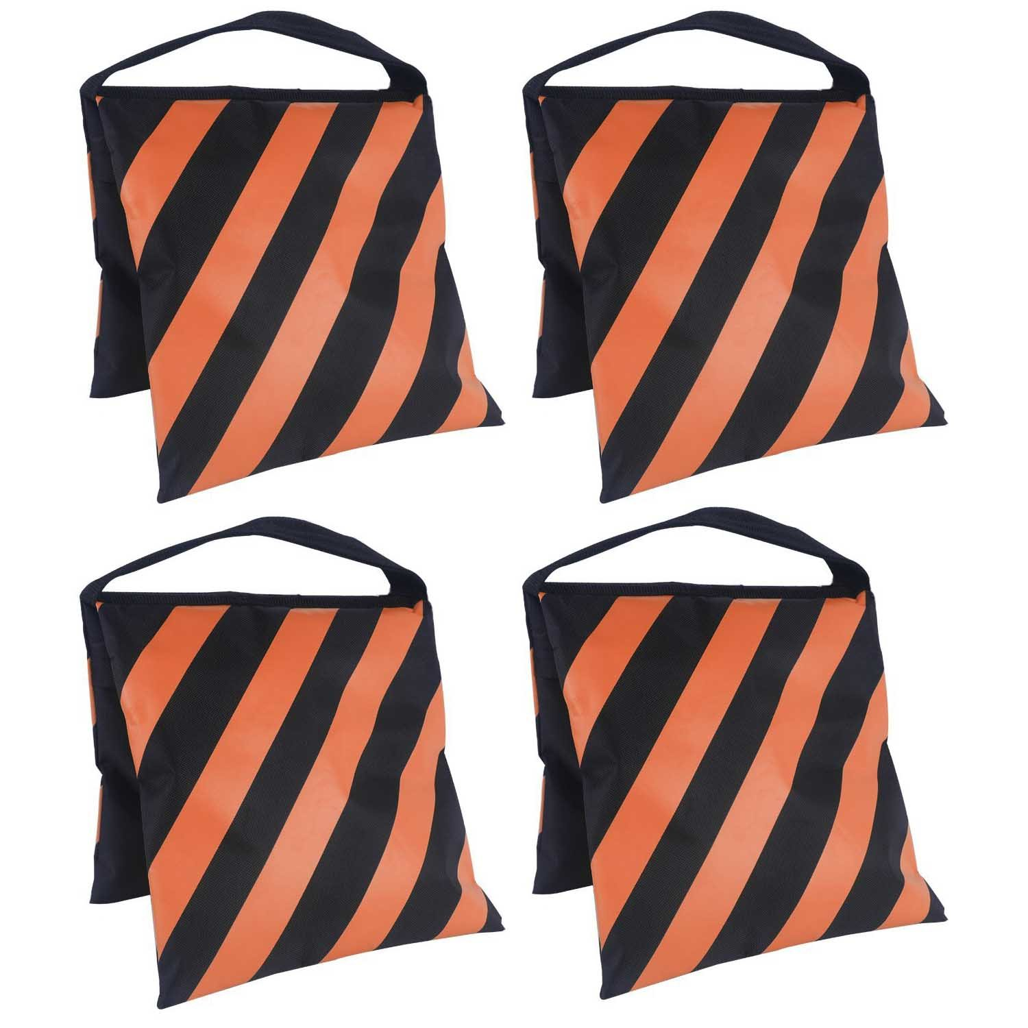 Heavy Duty Sand Bag Photography Studio Video Stage Film Sandbag for Light Stands Boom Arms Tripods (Orange)