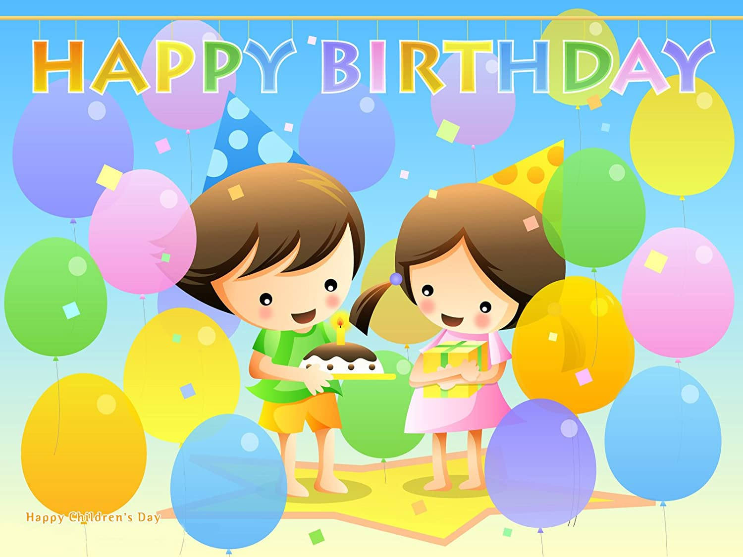 Happy Birthday Poster ON FINE Art Paper HD Quality Wallpaper Poster ...