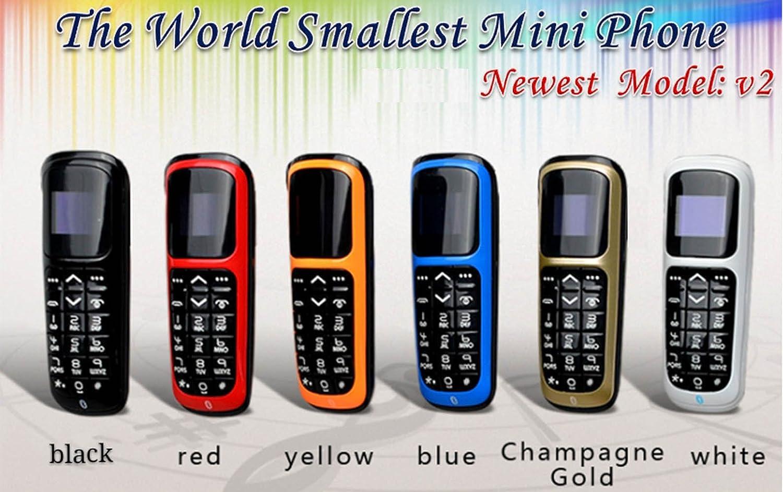 choisir véritable premier coup d'oeil 2019 real LONG CZ V2 Plus Petit Téléphone Bluetooth 3 en 1 Débloqué Micro SIM  Téléphone + Bluetooth Dialer + Earphone 99,9% Plastique Boss Phone Support  iPhone ...