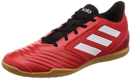 Adidas Predator Tango 18.4, Zapatillas de fútbol Sala para Hombre, (Rojo/Ftwbla/Negbás 001), 44 2/3 EU: Amazon.es: Zapatos y complementos