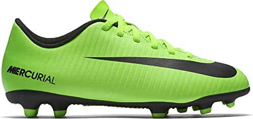 brand new db69c 7c2d7 Nike Mercurial Vortex III FG, Botas de fútbol Unisex niños, Verde (Electric  Green