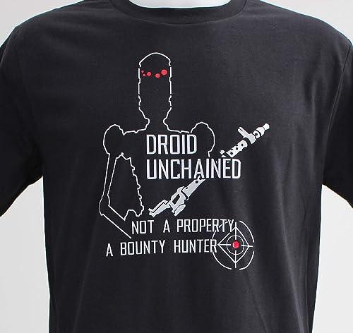 Unchained. Camiseta negra de chico: Amazon.es: Handmade