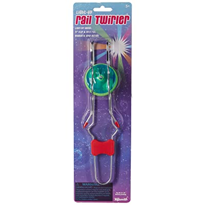 Toysmith Light-Up Rail Twirler (Colors May Vary): Toys & Games