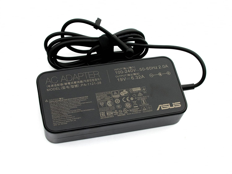 ASUS Cargador 120 vatiosdelgado Original para la série A53SV ...