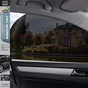 Gila Heat Shield VLT Automotive Window Tint DIY Heat Control Glare Control Privacy 2ft x 6.5ft (24in x 78in), 35% Dark Smoke (HPB046)