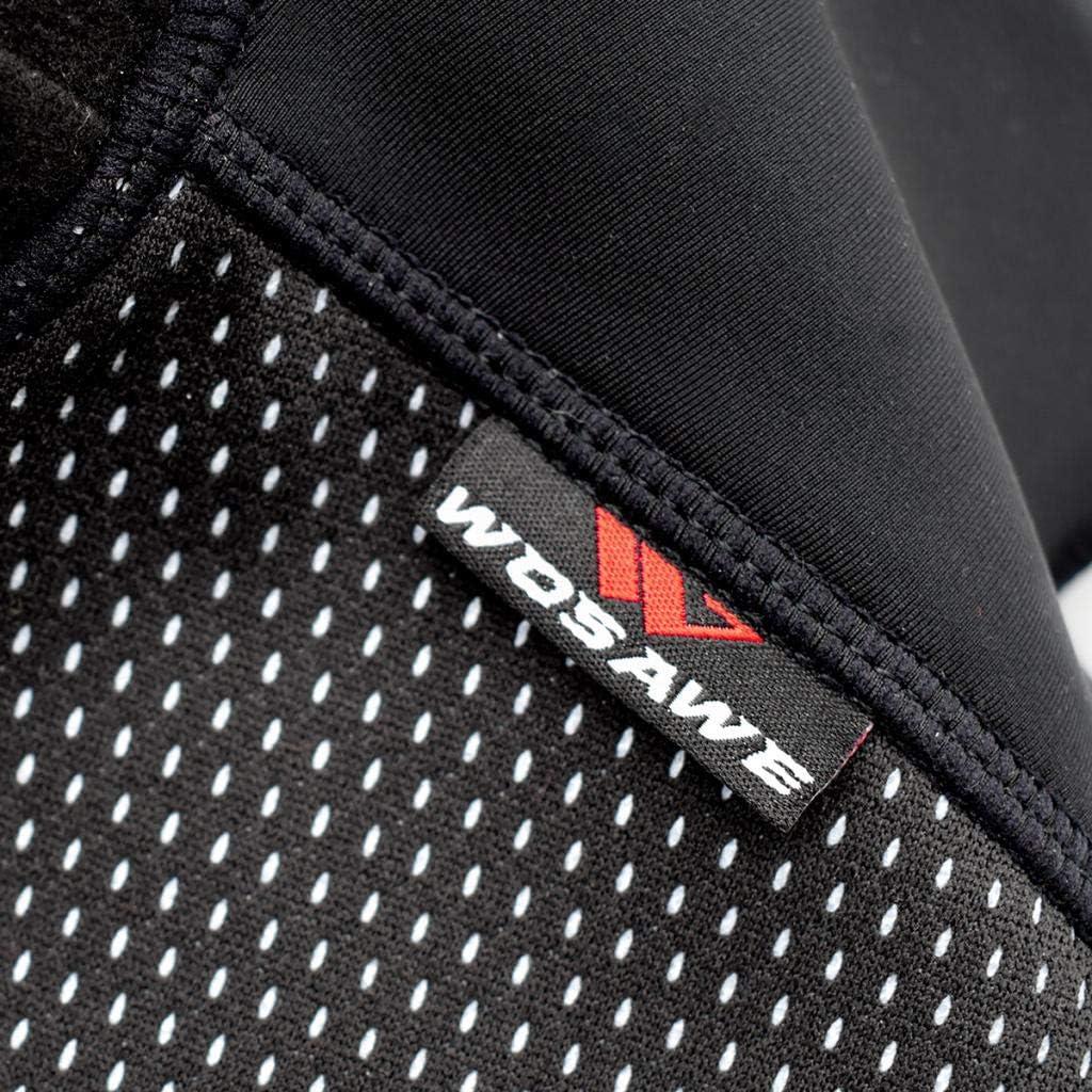 Toygogo Cache Cou Tubulaire dhiver Multi-Usage Unisexe Doublure en Polaire Thermique /élastique Tour de Cou pour Ski Course Moto V/élo