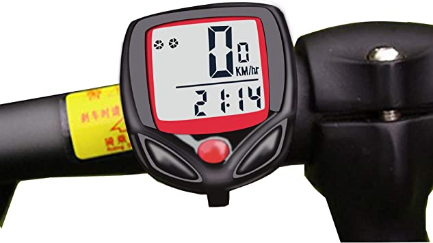 Mein HERZ Bicicleta Cuentakilómetros, 15 Funciones, para Medir la ...