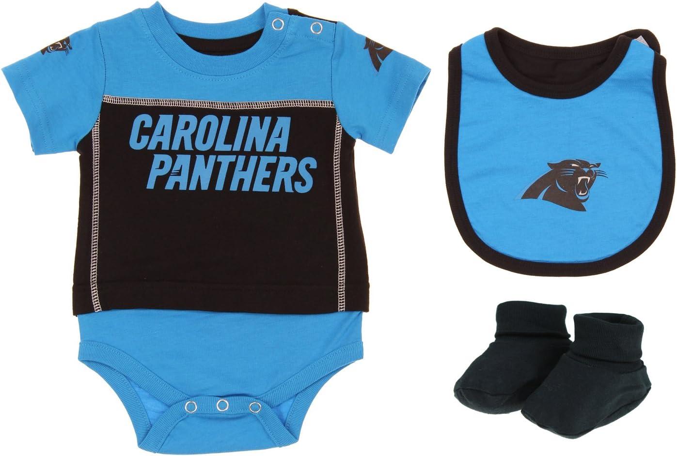 "NFL Infant Cleveland Browns /""LIL/' Jersey/"" 3 Piece Bodysuit Set"