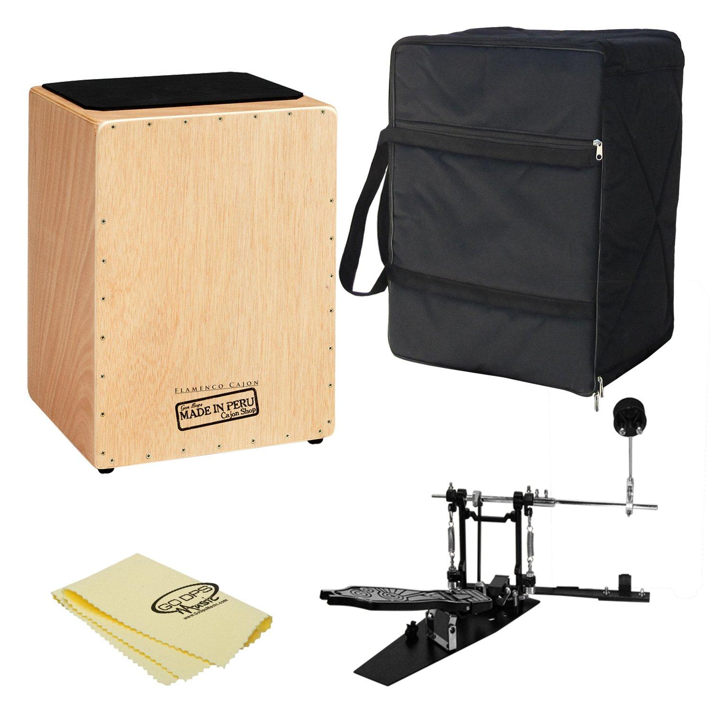 Gon Bops cjfl Flamenco cajón con ChromaCast cajón Direct Drive pedal: Amazon.es: Instrumentos musicales