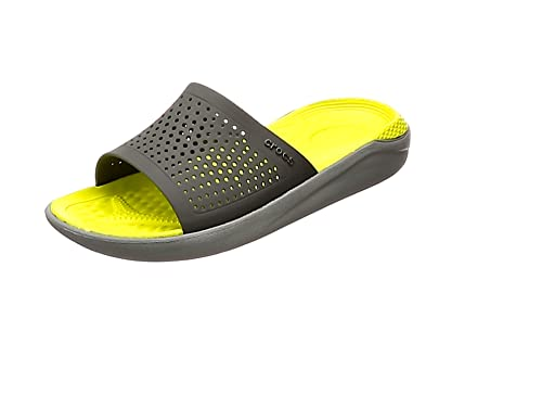 8859994e4732 Crocs Unisex Literide Slide Flat Sandal  Amazon.co.uk  Shoes   Bags