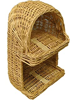 Selections Wicker Willow Vegetable And Fruit Storage Basket