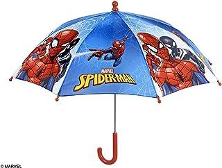 PERLETTI 75366Boy 38/8Uomo Stampato Spiderman Sicurezza Aperto Ombrello