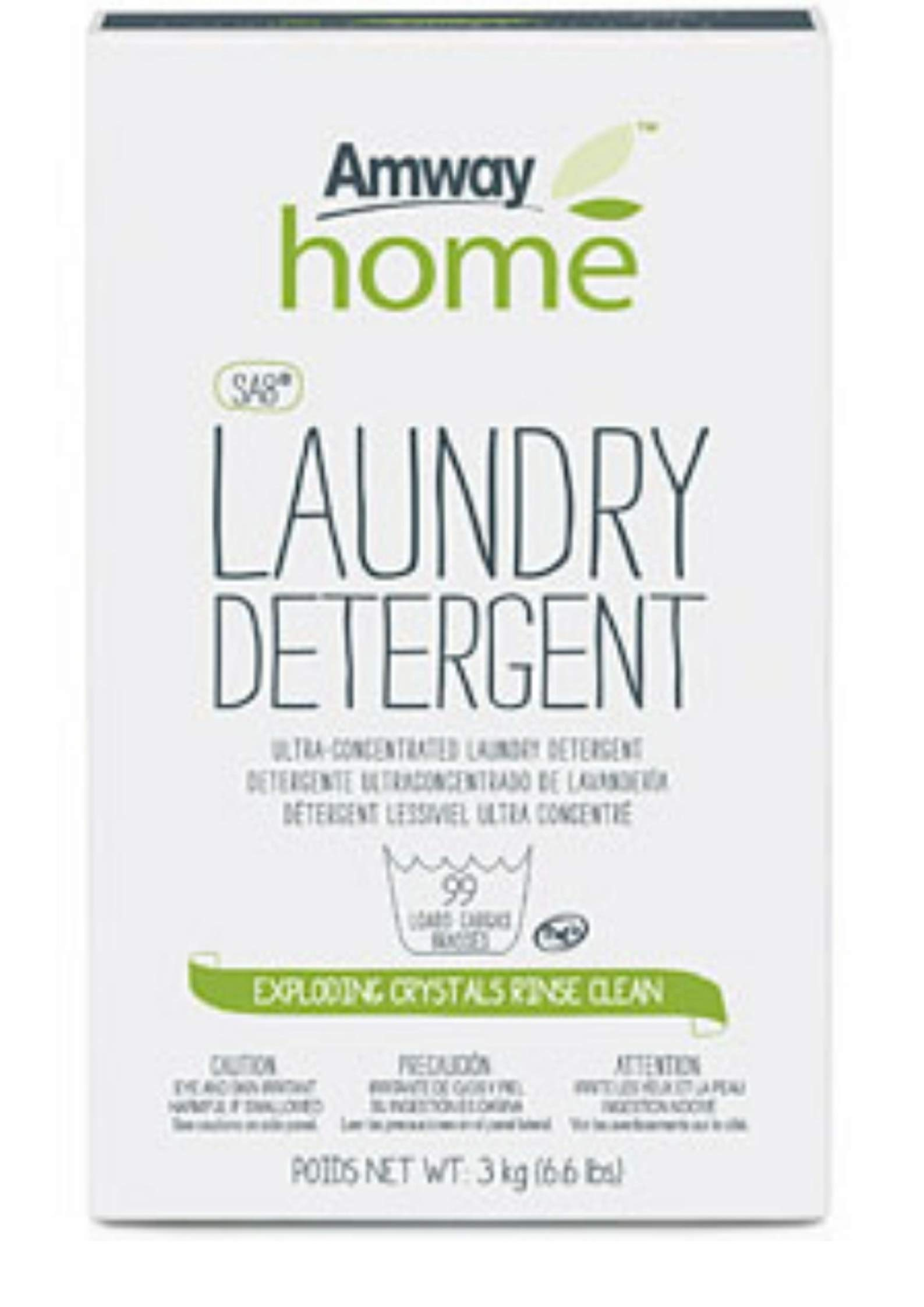 Amway Home SA8 Powder Laundry Detergent 3 kg / 6.6 lbs. up to 99 loadscm by Amway Legacy of Clean SA8