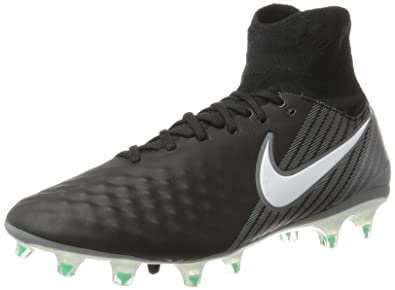 new style 2a1af 43dc5 Nike Herren Magista Orden Ii Fg Fußballschuhe, Schwarz (Black White-Dark  Grey