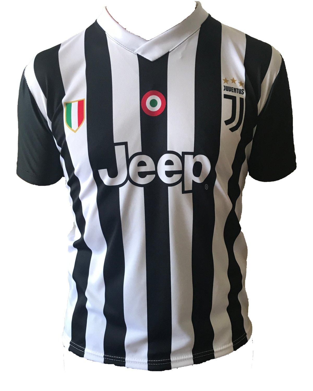Camiseta Jersey Futbol Juventus Paulo Dybala 10 Replica Autorizado 2017-2018 Niños Adultos (Talla 2 Años): Amazon.es: Deportes y aire libre