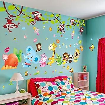 Wfl Chambre D Enfant Mur Autocollant Papier Peint Garcon Chambre