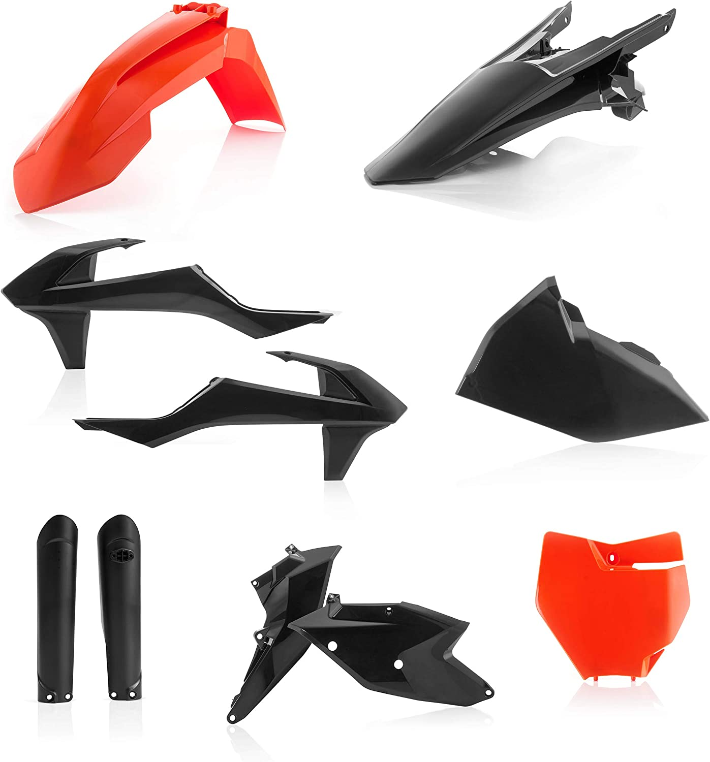 Black Replacement Motorcycle Front Fender Plastic for KTM 65