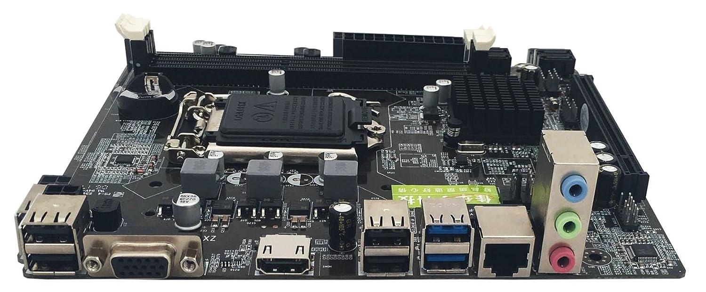 Ocamo H81 Motherboard 1150 Intel Core 4 Generation USB3.0 SATA3.0 Motherboard with HDMI USB