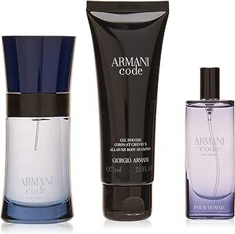 Giorgio Armani Armani Code Colonia by Giorgio Armani for Men - 3 Pc Gift Set EDT Spray 150ml