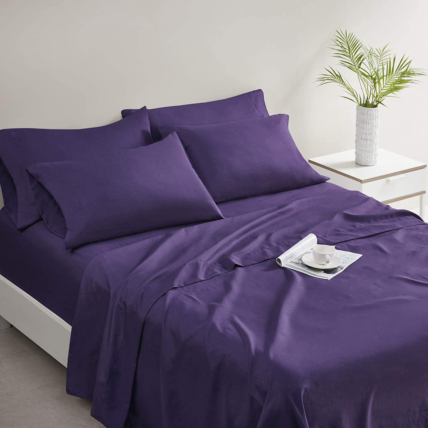 Comfort Spaces Microfiber Bed Sheets Set 14