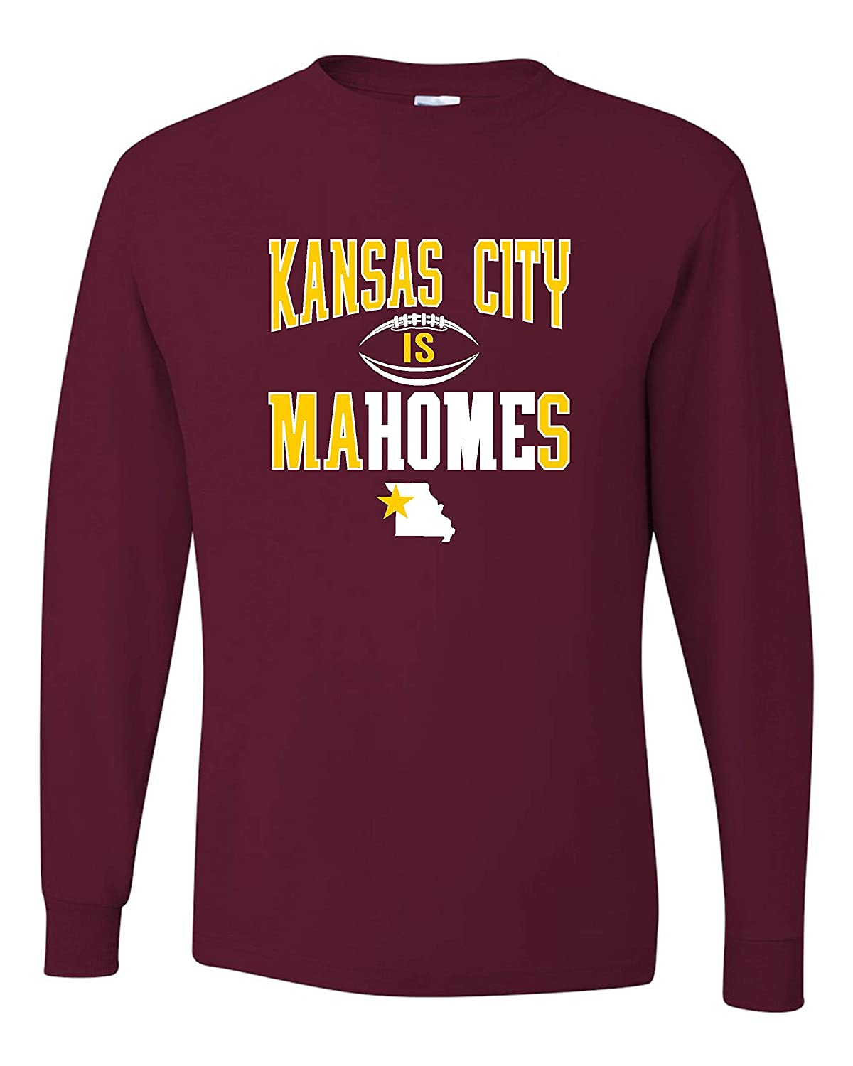 Go All Out Adult Kansas City is Mahomes Long Sleeve T-Shirt