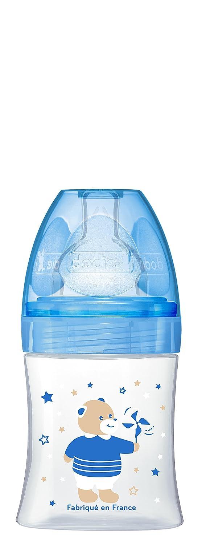 DODIE SENSATION+ Biberon Bleu Ourson T騁ine Plate D饕it 1 (150 ml)   B00TB7LKC0