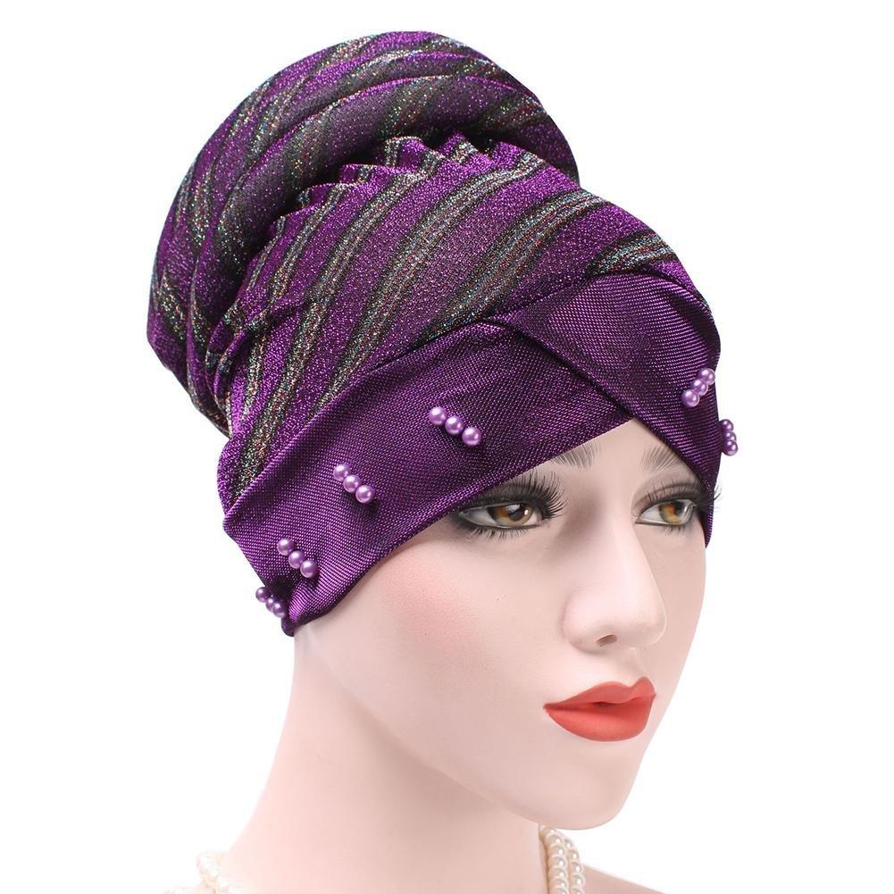 Likeitwell Rayas De Remache Turban Hijab Hat Soft Elástico Musulmán Chemo Cap Para Las Mujeres: Amazon.es: Bricolaje y herramientas