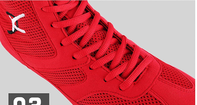 Day Key Wrestling Shoes Boxing Boots Rubber Sole Combat Training Shoes for Men/&Women/&Children Kids