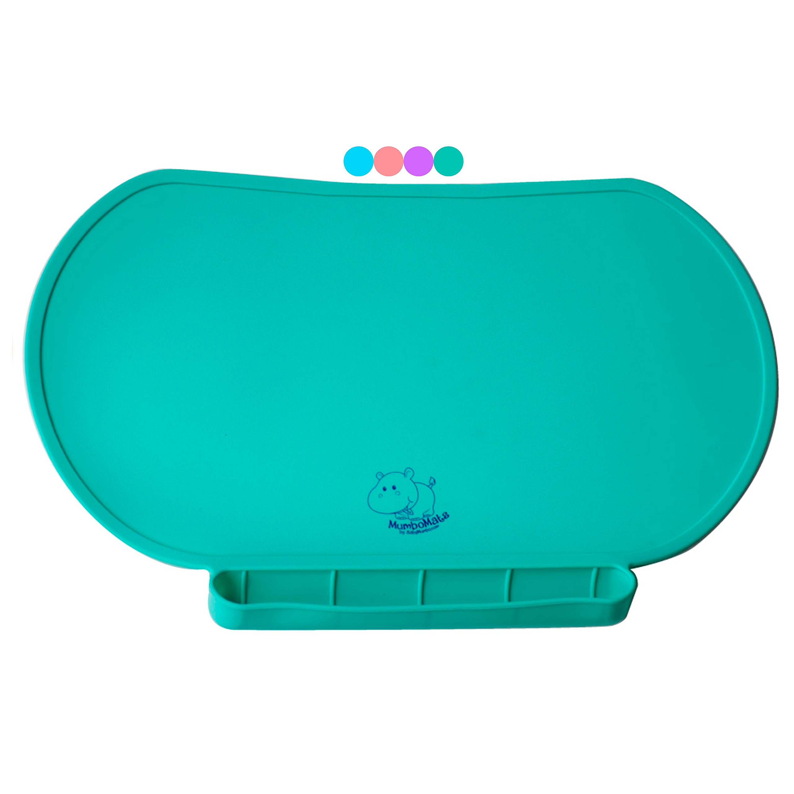 Amazon Com Yummy Mat Silicone Placemat Plate Tray
