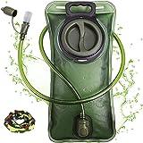 Hydration Bladder 2 Liter Leak Proof Water Reservoir, Military Water Storage Bladder Bag, BPA Free Hydration Pack…