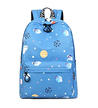 69ee386a94 Amazon.com  Acmebon Lightweight School Bookbag for Girls Women Daily Backpack  Fit for 15.6