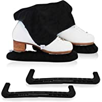 CRS Cross Skate Guards, Soakers & Towel Gift Set - Ice Skating Guards and Soft Skate Blade Covers for Figure Skating or…