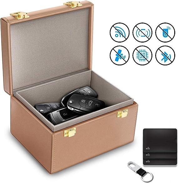 Jane Choi caja de bloqueo de señal para llave de coche, caja de Faraday para llaves de coche, caja de seguridad para llaves de coche, caja de seguridad para bloqueo de señal