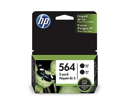 HP 564 - Cartucho de Tinta para impresoras (Negro, 500 ...