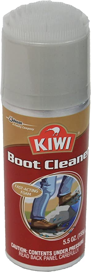 Kiwi Boot Cleaner Removes Dirt