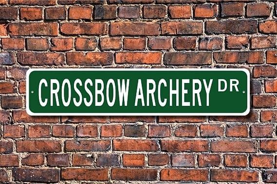 Türschild Dekoschild « Bogenschießen » Archery