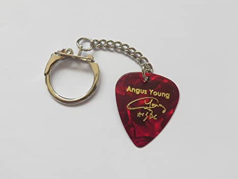 Angus Young impreso firma Plectrum Púa De Guitarra ACDC AC ...