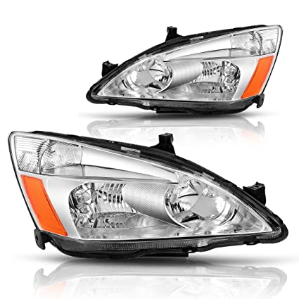 AUTOSAVER88 For 03 04 05 06 07 Honda Accord Headlight Assembly,OE Projector  Headlamp,