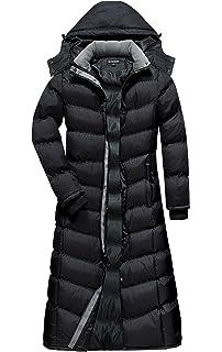 b00cbb4dbf0 U2Wear Women s Water Resistance Puffer Winter Full Length Coat With Hood