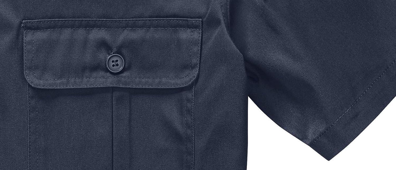 Brandit Men's Us Hemd Kurzarm Shirt Navy