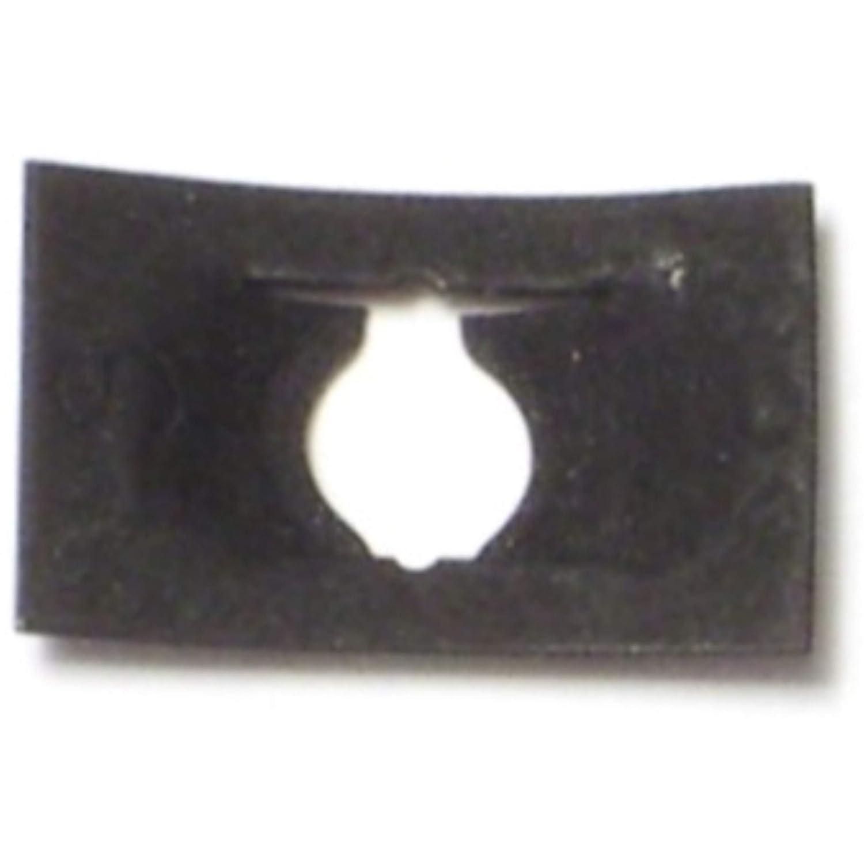 Piece-60 Hard-to-Find Fastener 014973324247 Flat Speed Nuts for Machine Screws 8-32