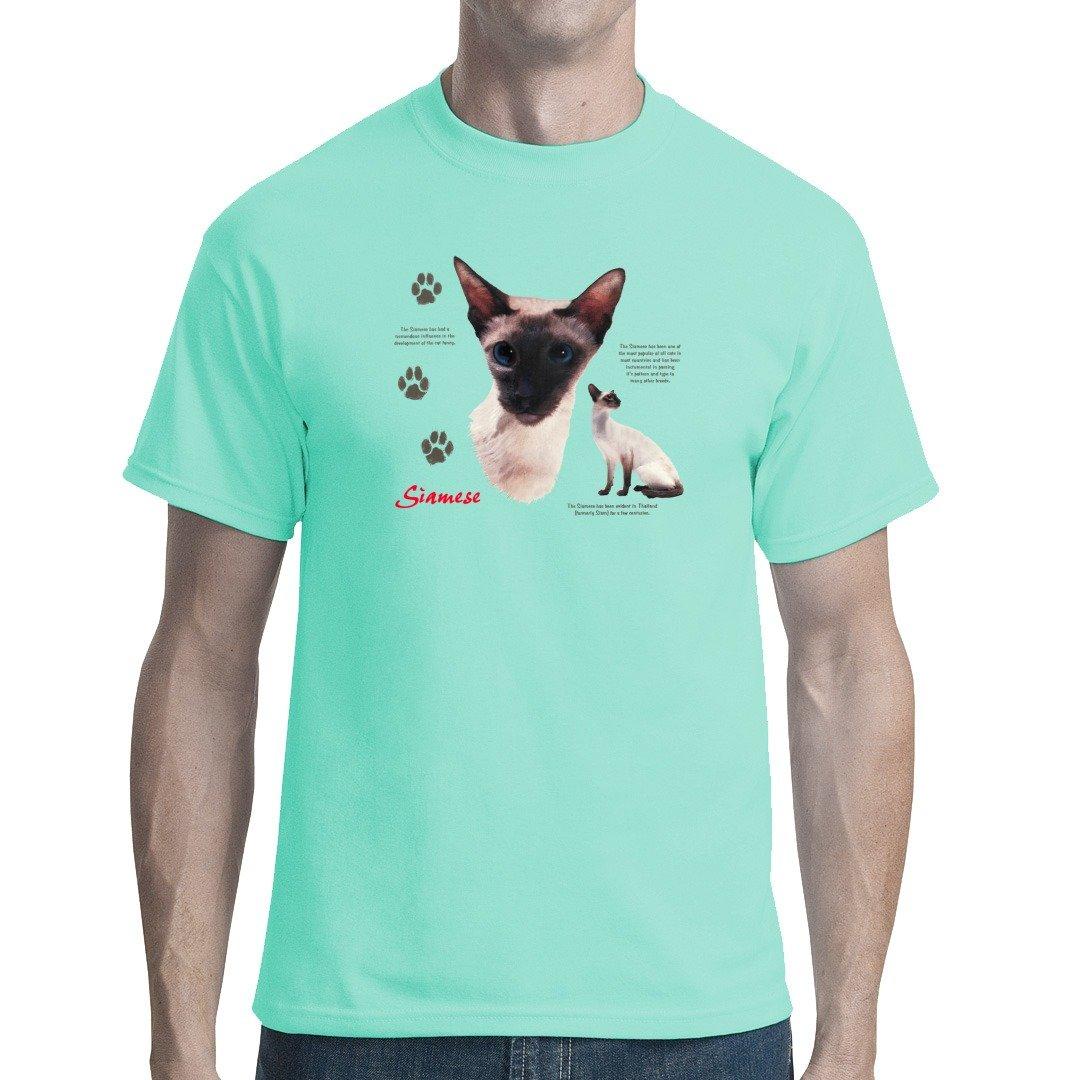 Fun unisex T-Shirt - Rassekatzen: Siamkatze, Siamese by Im-Shirt:  Amazon.de: Bekleidung