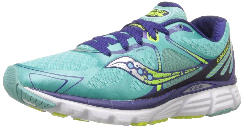 Saucony Women's Kinvara 6 Running Shoe B00PJ8ATT0 10 B(M) US|Blue/Citron