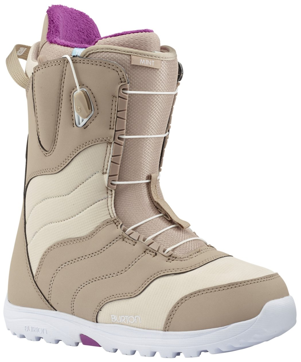 Burton Mint Snowboard Boot 2018 - Women's Tan 8 by Burton