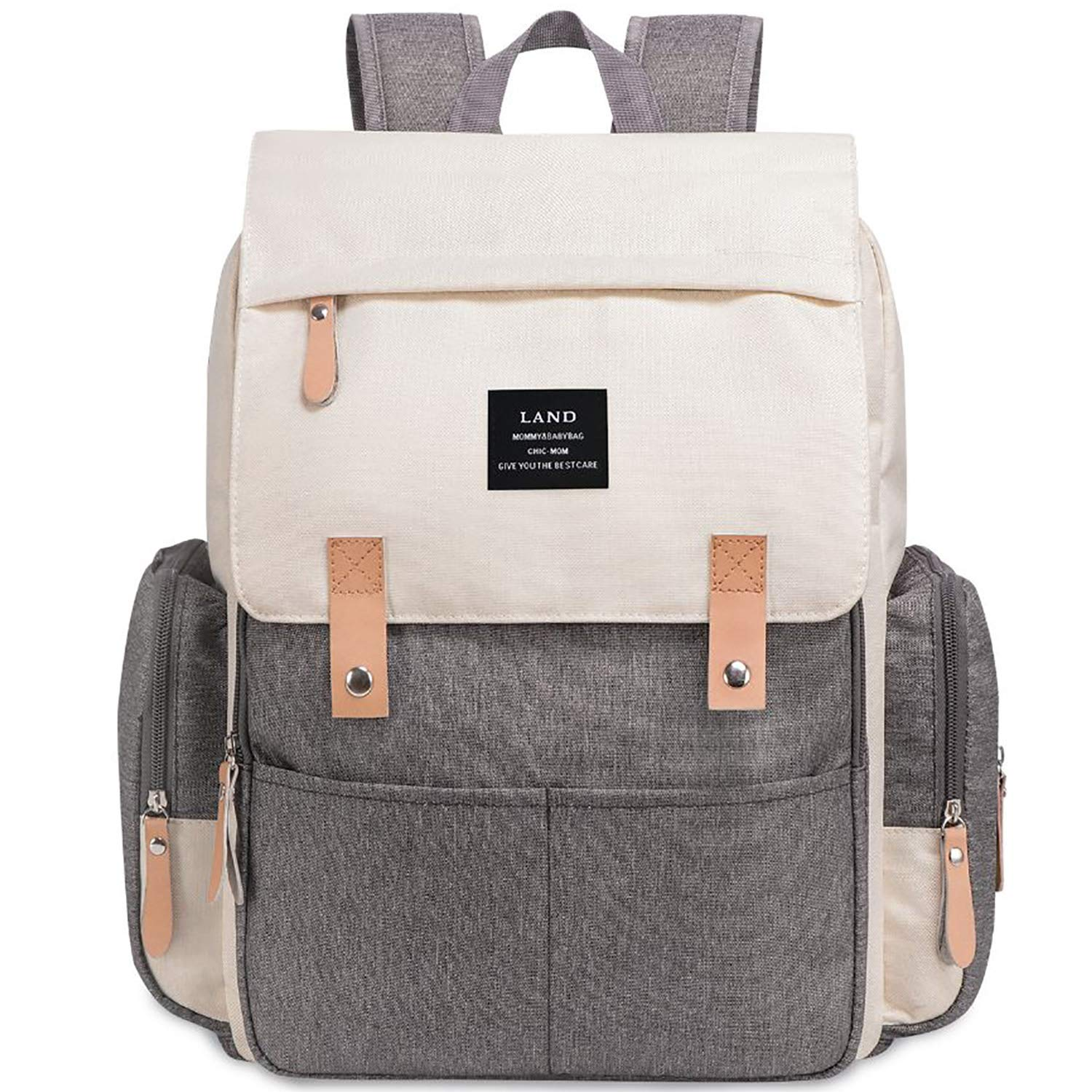 Amazon.com : Land Backpack Diaper Bag for Mom/Dad, Baby