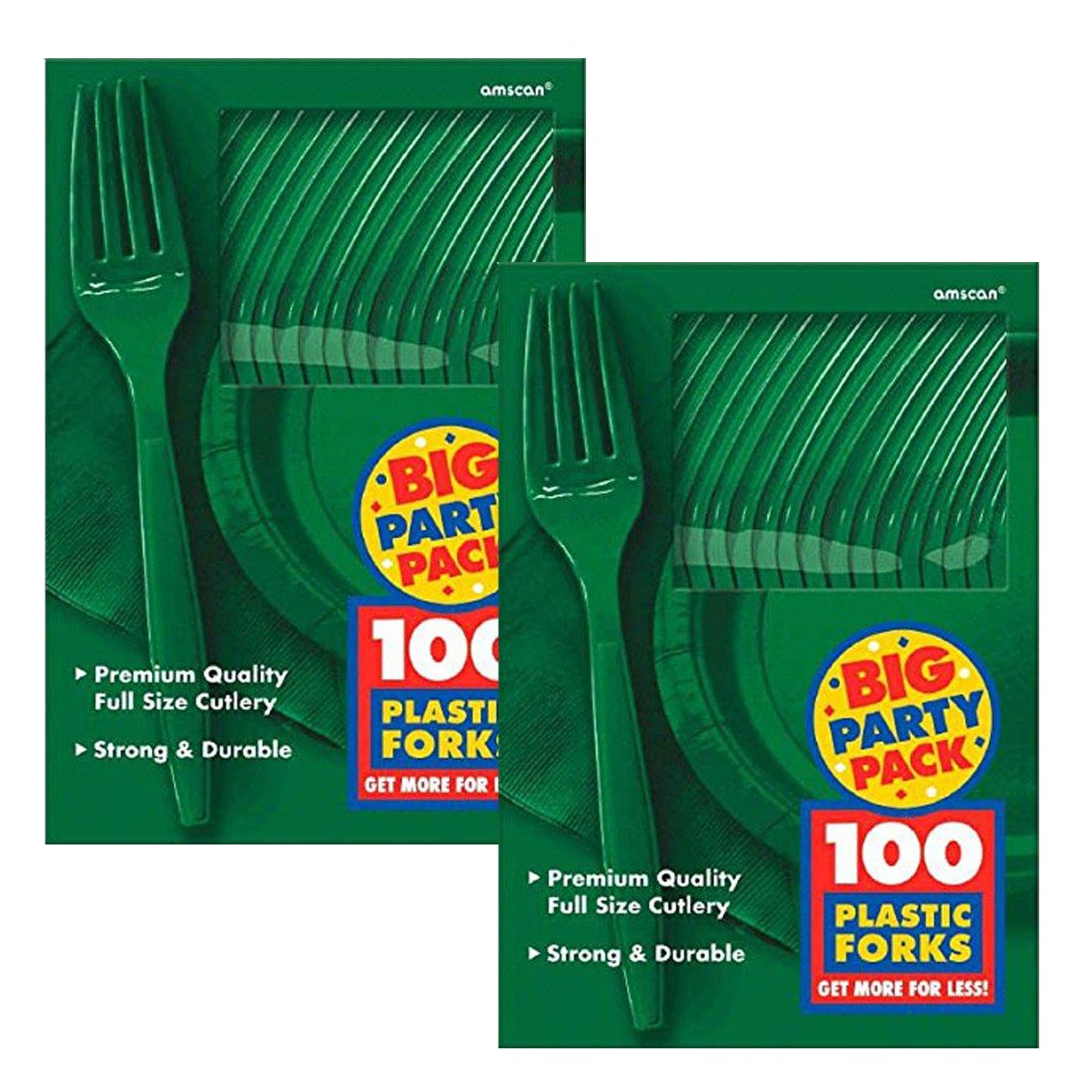 AMSCAN 43600.03 party supplies, verde, 18,5 x 13,2 cm